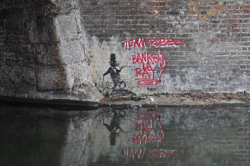 Banksy La Rat