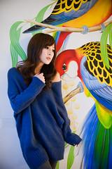 (swanky) Tags: portrait people woman cute girl beauty canon asian eos model asia pretty  taiwan babe  taiwanese 2010  mikako    mikako1984  5dmarkii 5d2 5dmark2