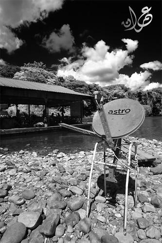 Astro Satellite Dish @ Kuala Tahan