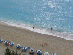 Greece - Lefkada (Been Around) Tags: europe travellers eu greece gr griechenland 2009 lefkas lefkada 5photosaday  concordians worldtrekker september2009  egremnibeach visipix