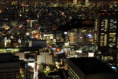 TMG (leschar) Tags: longexposure japan skyscraper tokyo shinjuku  japon tokyometropolitangovernmentbuilding tmg gratteciel improvisedtripod improvisedtripods