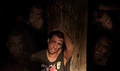 Nightmare (Daniel Benninger) Tags: men night pain mare nacht bad montage demon mann nightmare feeling cry wald loud baum angst seele nachts schmerz schrei gefhl dmon alptraum verzweifelt