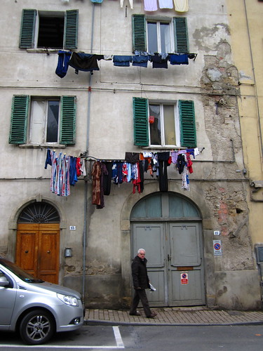 Laundry Day in Poggibonsi