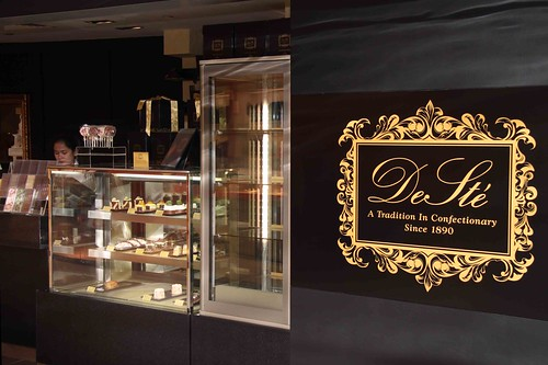 DeSté chocolate boutique at Mandarin Gallery