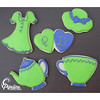 Tea Party Bridal Shower Favors (pipeline confections) Tags: bridalshower teaparty favors sugarcookies royalicing