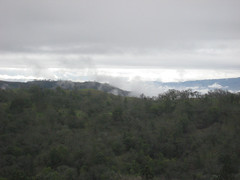 Low clouds Photo