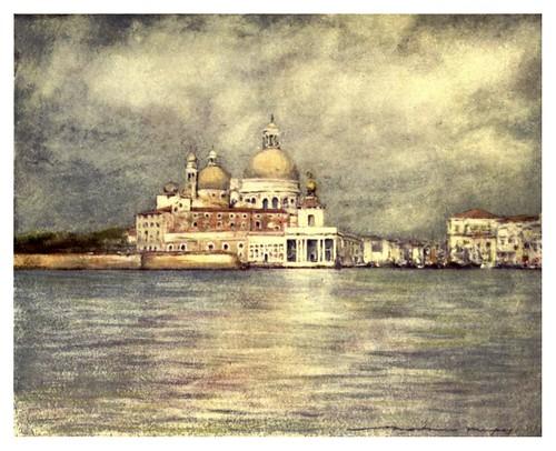 009-El Dogana y Salute-Venice – 1904-Dorothy Menpes