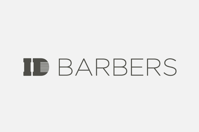 ID Barbers Logo Design