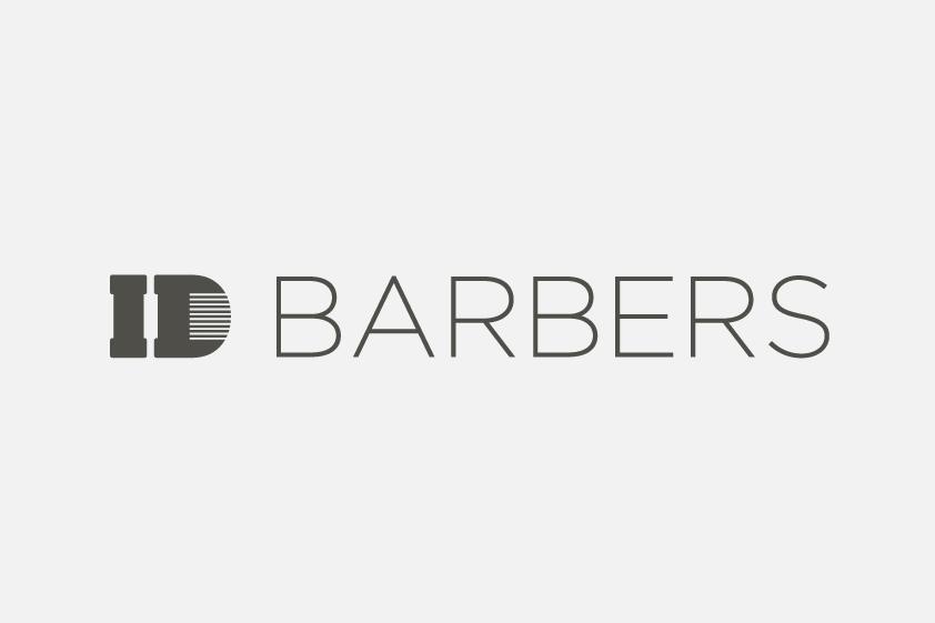 ID Barbers Logo Design