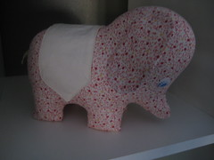 """B""elephant (Just Tory) Tags: stuffedtoy sewing calico alexanderhenry joellehoverson lastminutepatchworkquiltedgifts"