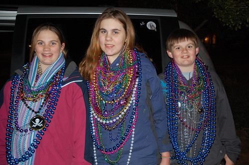 Mardi Gras Parade - Fairhope, Alabama