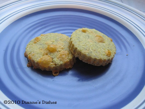 Cheddar and Dill Cornmeal Cookies