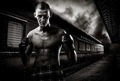 Mixed Martial Arts Fighter by ChristopherjSmith