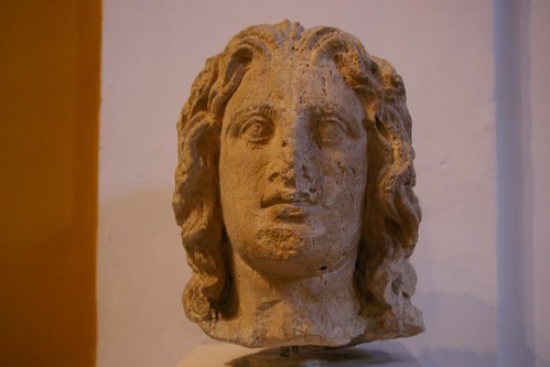 Alexander the Great face