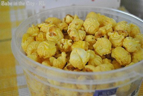 Chef Tony's Vanilla Flavour Popcorn