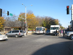 20091105 06 Harlem Ave. @ Lake St. (davidwilson1949) Tags: bus illinois transit pace oakpark riverforest harlemave