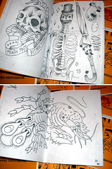 piranha: sketchbook (piranhart) Tags: tattoo sketchbook sketches piranha ilustracion fanzine xpiranhax