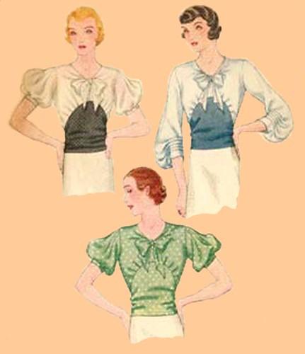 1933 blouse