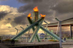 2010 Winter Olympic Outdoor Cauldron HDR (TylerIngram) Tags: winter vancouver photowalk olympics cauldron hdr olympicflame nwn olympics2010 1xp 1exp outdoorcauldron winterolympicflame