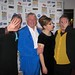 With Christopher Biggins and Mel Giedroyc