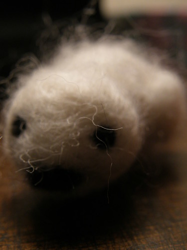 Needle Felted Seal