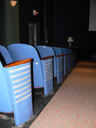 Seating, Little Theatre, Rochester