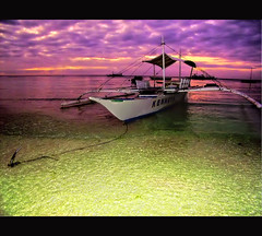 Do you know where your're going to? (maloim) Tags: ocean sky beach water clouds sunrise boat bohol panglao bangka alonakew gedigital garbongbisaya pcp2011