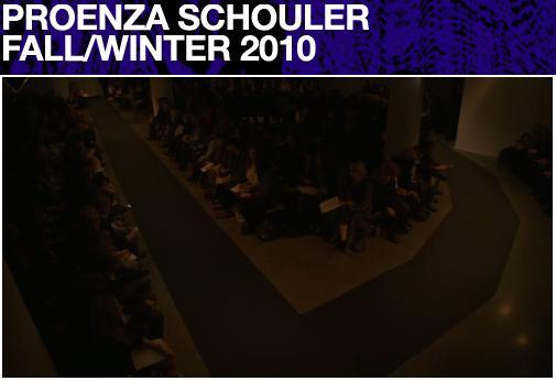 Proenza Schouler Fall/10