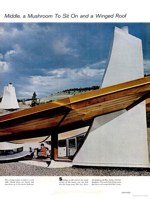 Volsky Residence , Boulder, CO - 1965