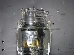 Water tower (mattan95) Tags: black water glass drops shoot shotgun waterdrops vatten glas patron svart droppar skott vattendroppar hagelgevr