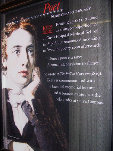 Keats at King's College
