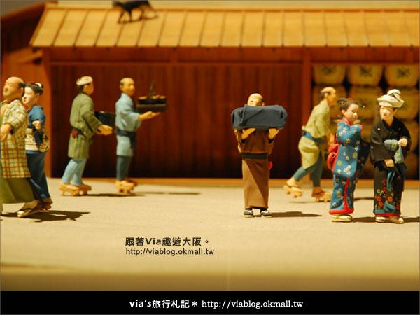 【via關西冬遊記】大阪歷史博物館~探索大阪古城歷史風情16