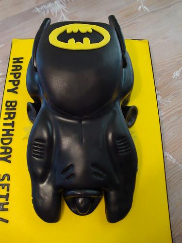 Batmobile cake