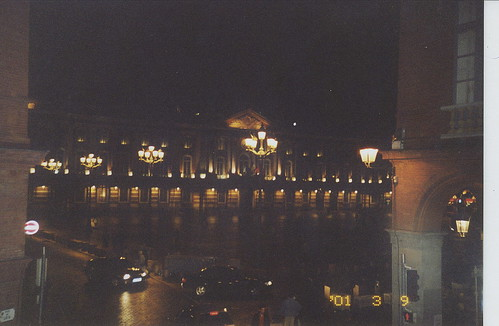 2001-03-10 Toulouse France (Place du Capitole from l'hotel du grand balcon)