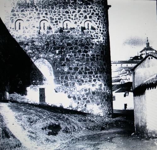Torre de la Almofala a principios del siglo XX.