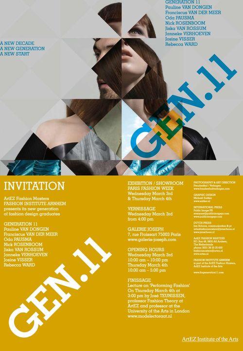 Generation 11 exhibition in Paris