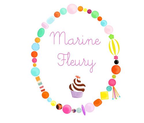 Marine Fleury cupcake chantilly