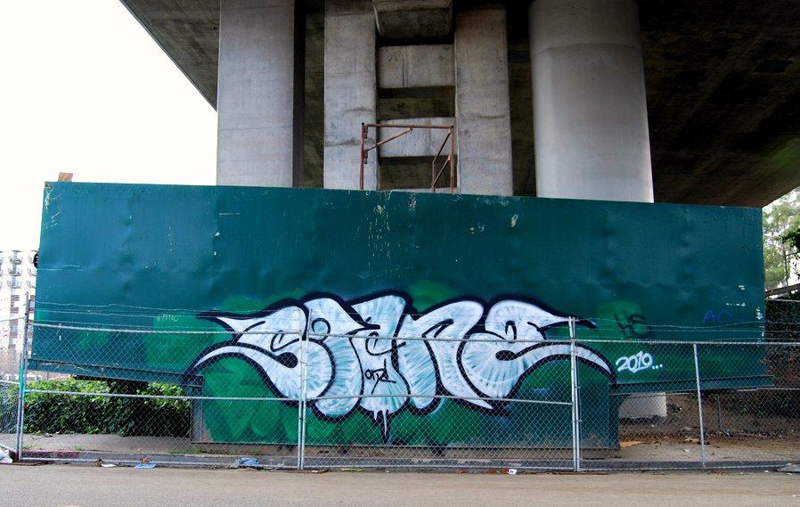 Stane Graffiti Bomb Oakland California.