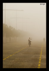 Cycling in fog (Zopidis Lefteris) Tags: bike bicycle fog cycling hellas greece macedonia thessaloniki allrightsreserved lefteris     zop mywinners abigfave   zopidis      thessalonikicity   photographerzopidislefteris     photographerzopidislefterisc c  allphotosarecopyrightedbyzopidislefteris  copyright