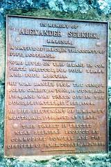 880601 5 Alexander Selkirk Memorial (rona.h) Tags: june 1988 cloudnine ronah robinsoncrusoeisland alexanderselkirk islajuanfernandez