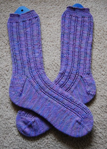 FO: First toe-up socks