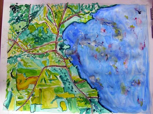 Westport, NY map #1