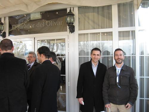 adlemons Co. en el Eats and twitts Madrid 24-02-2010