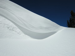 wind-made (vil.sandi) Tags: blue winter sky white snow alps wind cornice potofgold heimgarten wächte mywinners colorphotoaward estremità updatecollection