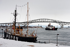 USCGC Hollyhock & Lightship Huron