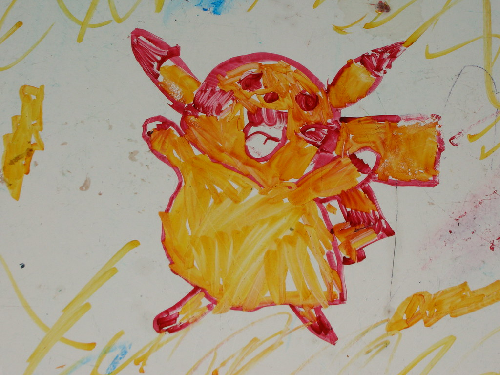Pikachu by Riley