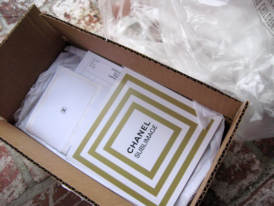 chanel delivery