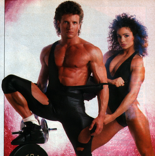 Stretchy 80's couple II