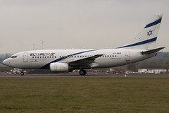 4X-EKE - 29961 - El Al Israel Airlines - Boeing 737-758 - Luton - 091111 - Steven Gray - IMG_4450