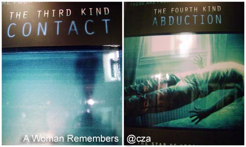 Contact, Abduction, The FOurth Kind movie review